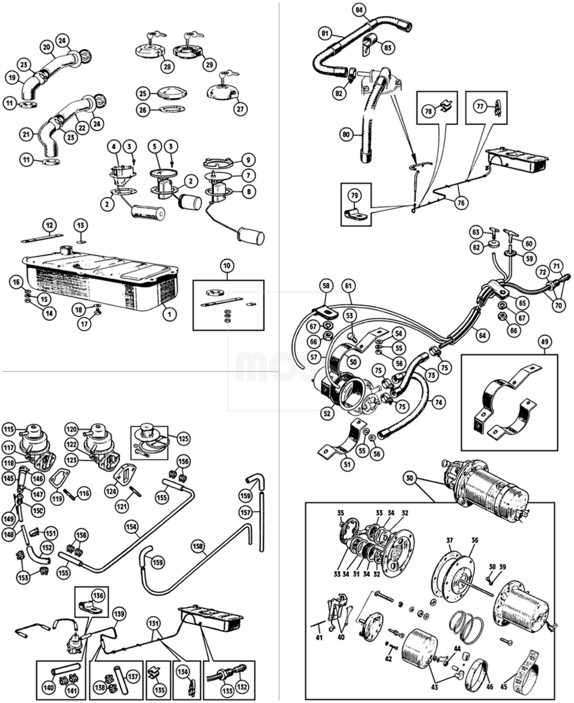 fuel tank  pump  u0026 fittings