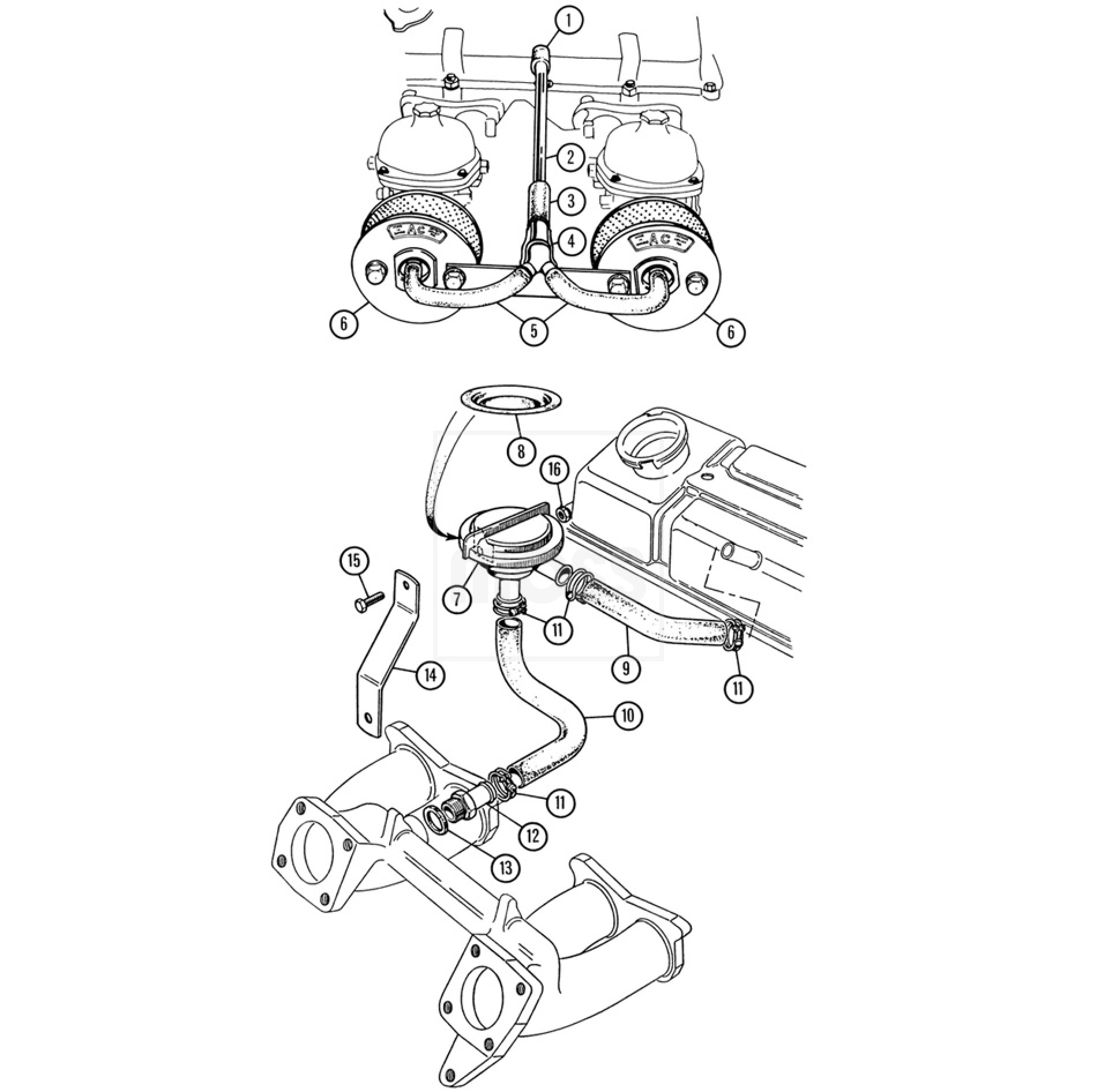 engine breather  u0026 emission controls