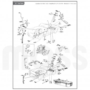 Sprite Midget Parts Catalogue Sm002 additionally Fiat Online Parts Catalog also Exhaust in addition Moteur likewise Cooling System. on mgb parts catalog