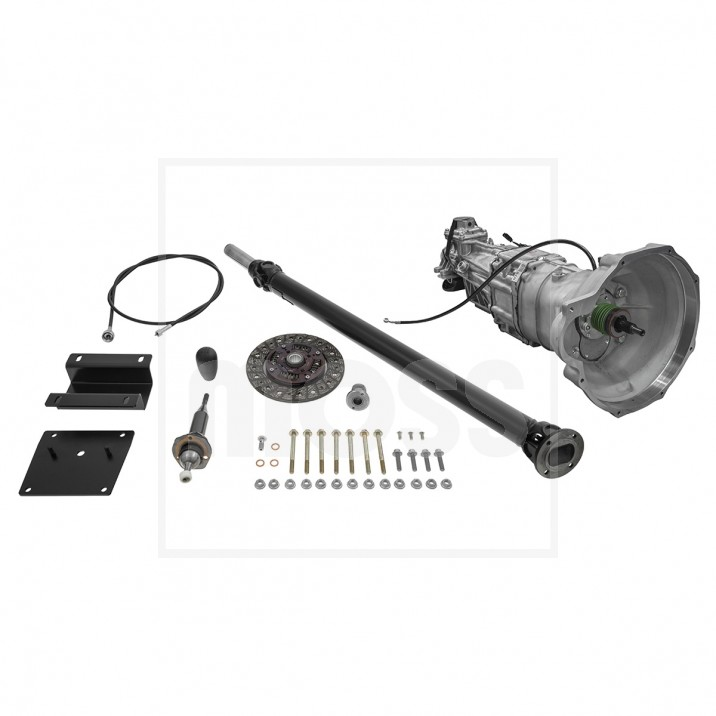 Five Speed Mazda Gearbox Conversion For MGA