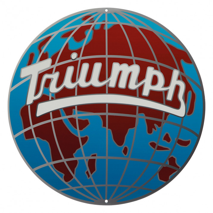 Round TR Globe Sign