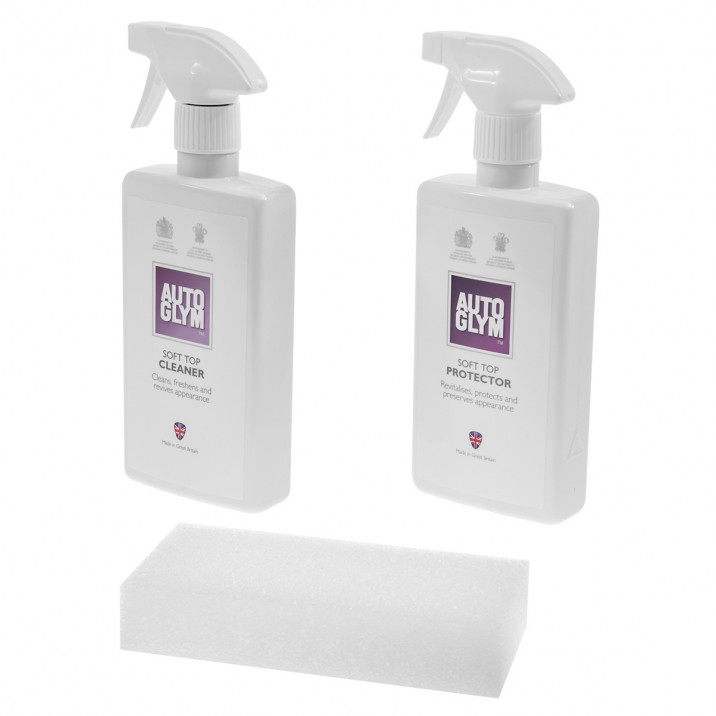 Autoglym Convertible Soft Top Clean and Protect Complete Kit