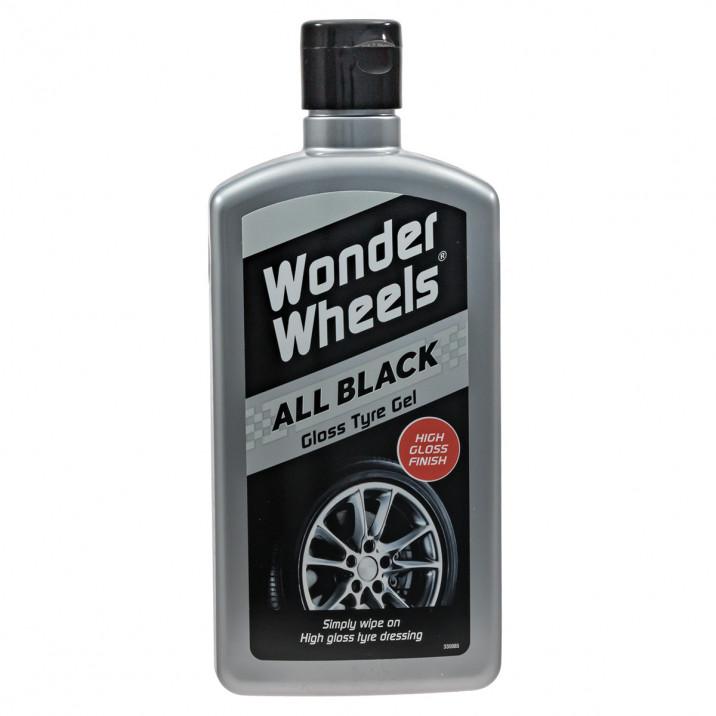All Black Gloss Tyre Gel