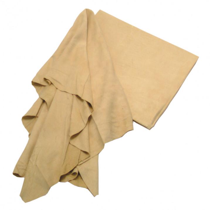 ENTRETIEN, peau de chamois, 60 x 60 cm