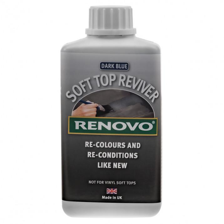 Renovo Soft Top Reviver, Blue, 500ml