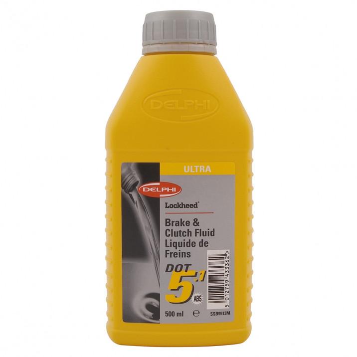Brake & Clutch Fluid - DOT 5.1