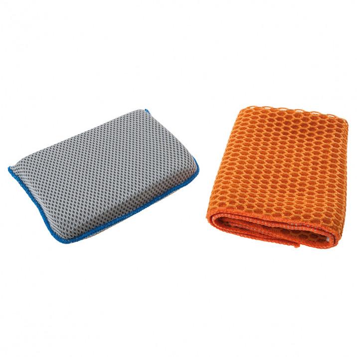 Sponge & Cloth Set, 2 piece