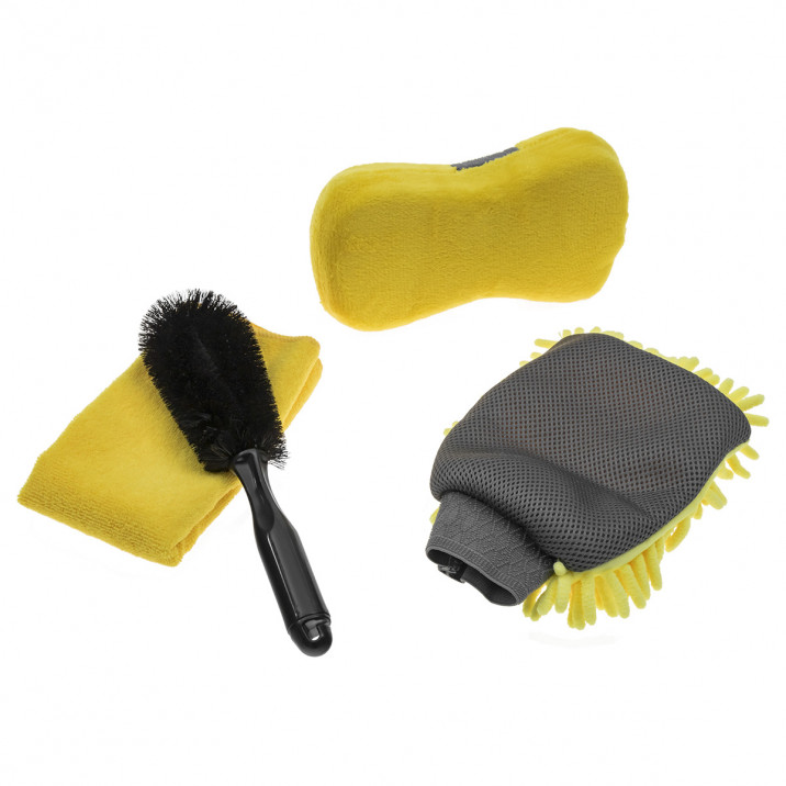 Microfibre Cleaning Kit, 4 pieces