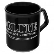 Mug, black, Dynolite logo