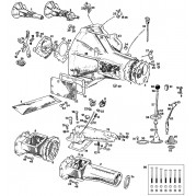 External Gearbox: 4 Synchro - MGB & MGB GT (1967-80)