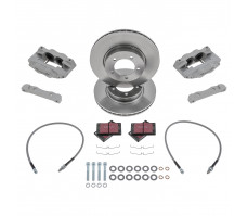 Fosseway Performance 4 Pot Front Brake Kit - E-Type