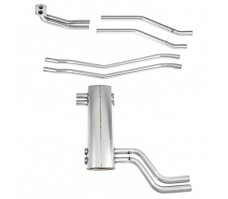 Bell Stainless Steel Exhaust Systems - TR5-6