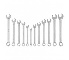 Spanner, combination, AF/mm, 12 piece