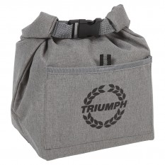 Cool Bag, grey, insulated, TR wreath logo