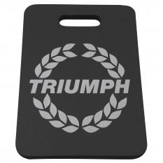 Kneeling Pad, Softek, Triumph logo