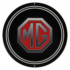 Round MG Sign