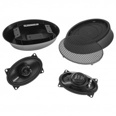 "Speaker Pods, RetroSound, deluxe, 4"" x 6"", pair"