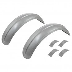 Cycle Wings, front, alloy, pair