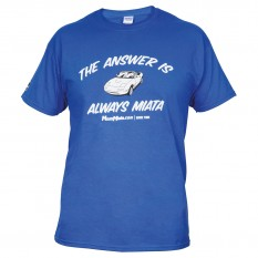 T-Shirt, MX-5, Mens, Blue, XXL