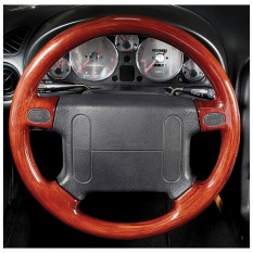 Steering wheel, rosewood, airbag models