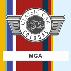 Classic Car Colours Paints - MGA