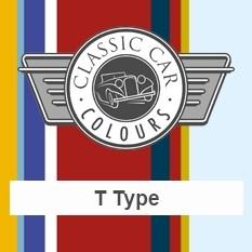 Classic Car Colours Paints - T Type
