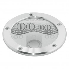 Tax Disc Holder, MG logo, aluminium