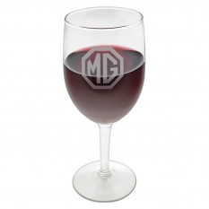 Wine Glass Set, MG logo, set of 4