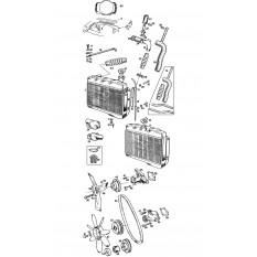 Cooling System: Mechanical Fan - MGB & MGB GT (1962-76)