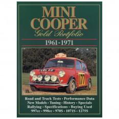 LIBRAIRIE, Gold Portfolio For The Mini Cooper, 1961 71