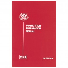Competition Preparation Manual, MGB