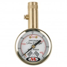Tyre Pressure Gauge, solid brass