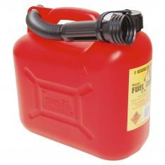 JERRYCAN, Plastique 5 litres, avec bec verseur