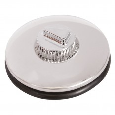 Tax Disc Holder, suction fitting, stainless steel