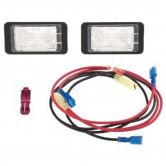 Interior Lamp Kit, black console