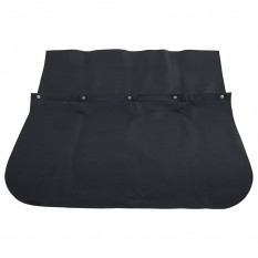 Protector, rear window, black