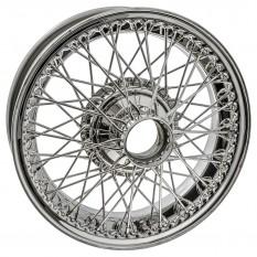 """Wire Wheel, stainless steel, 16"""" x 5"""", 60 spoke"""