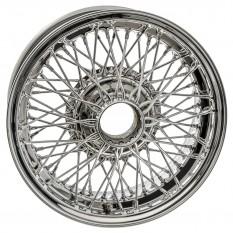 """Wire Wheel, stainless steel, 15"""" x 6"""", 72 spoke"""
