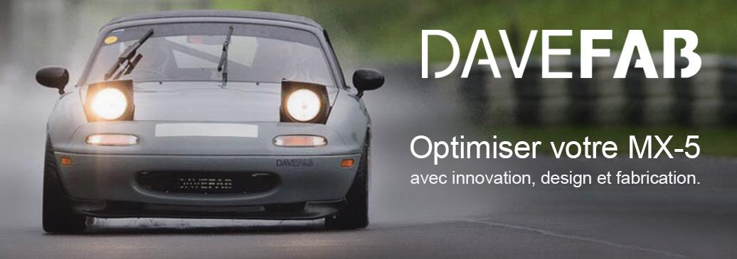 DaveFab innovation, design et fabrication.
