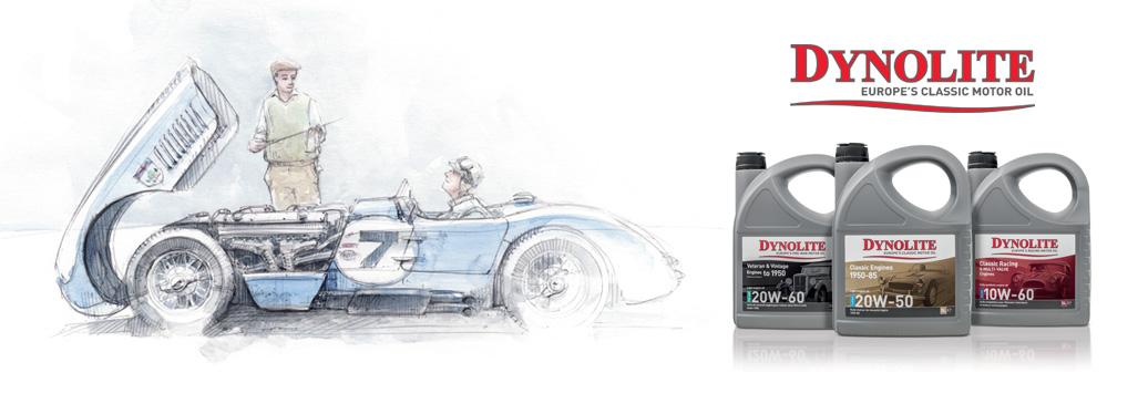 Dynolite propose une large gamme d'huiles et de lubrifiants pour voitures et motos anciennes de collection