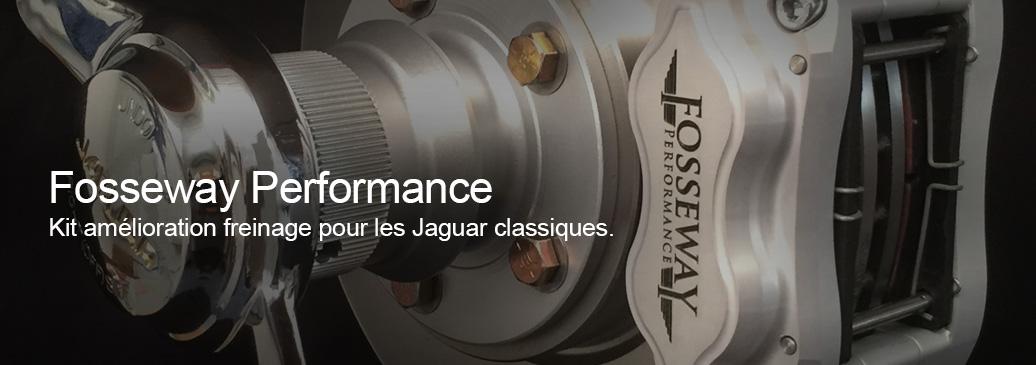 Fosseway Performance, kit amélioration freinage pour les Jaguar classiques
