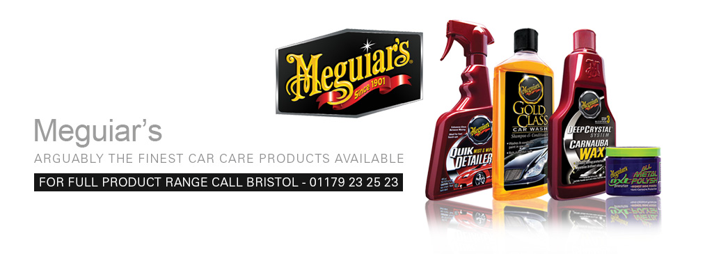 Meguiar's high quality car care products