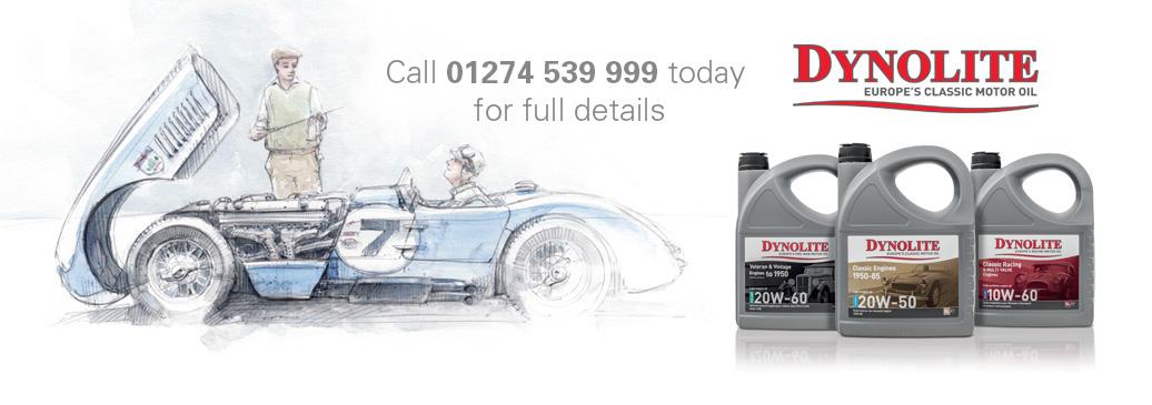 Dynolite Oils, Europe's Classic Motor Oil
