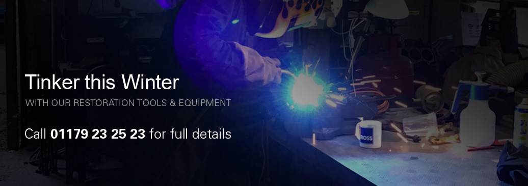 Full range of restoration tools & equipment