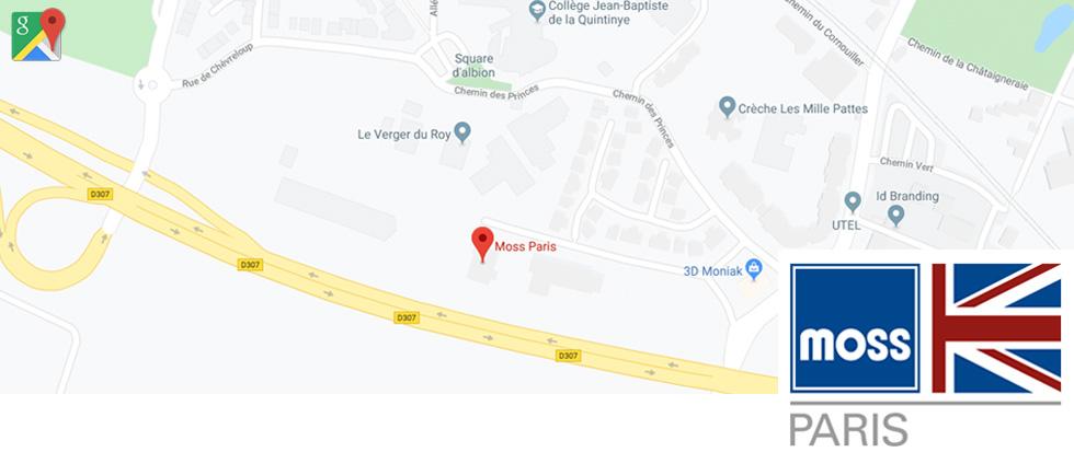 Moss Paris Google Maps Image