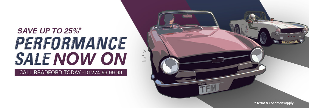 Save up to 25% on performance & tuning parts across our range