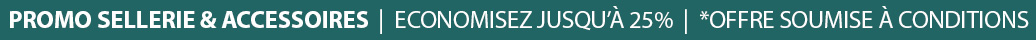 Promotion Sellerie & Accessoires - Economisez Jusqu'à 25%