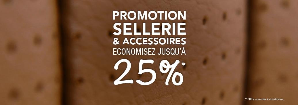 Promotion Sellerie & Accessories - Economisez Jusqu'à 25%
