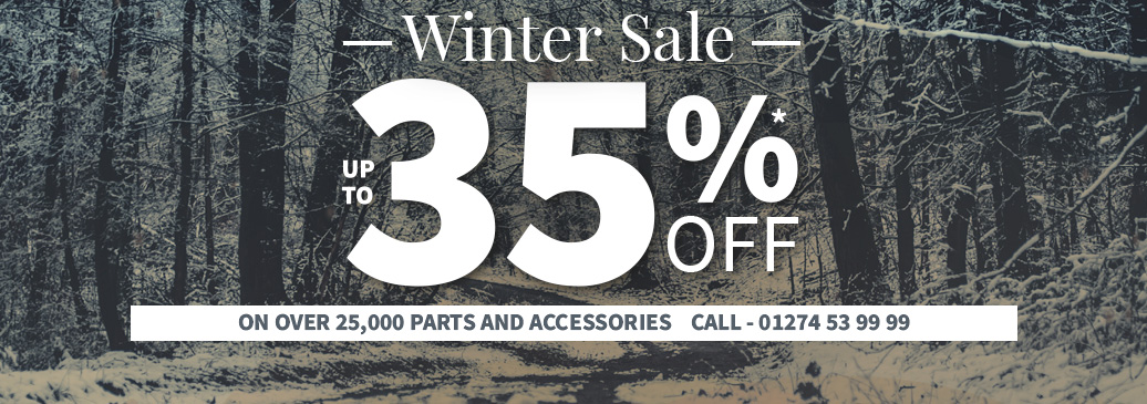 Winter Sale Now On! Save up to 35% on over 25,000 parts and accessories