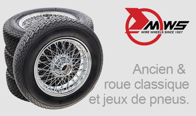 Ancien & roue classique et jeux de pneus.